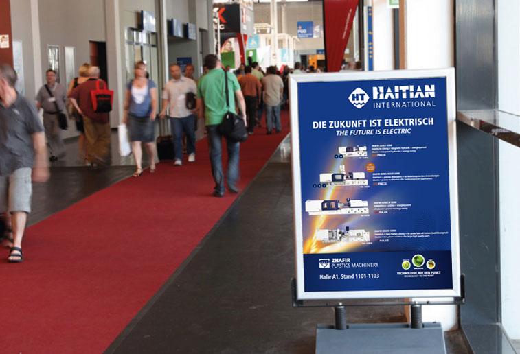 Fakuma 2018 in Germany: Haitian International presents electrical solutions